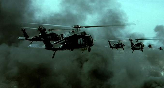 a review of the movie black hawk down Black hawk down is a 2001 war film produced and directed by ridley scott  in a review featured in the new  black hawk down at the internet movie firearms .